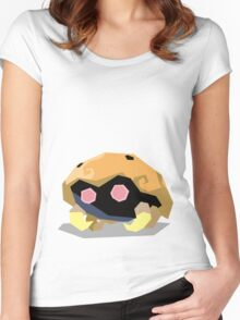 Cutout Kabuto Women's Fitted Scoop T-Shirt