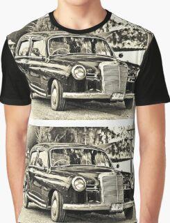 Mercedes Benz Vintage Graphic T-Shirt
