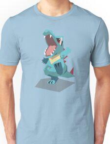 Cutout Totodile Unisex T-Shirt