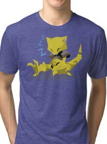 Cutout Abra Tri-blend T-Shirt
