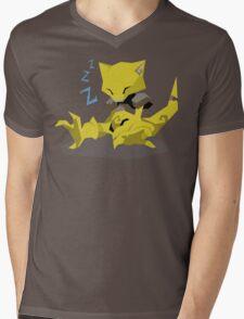 Cutout Abra Mens V-Neck T-Shirt