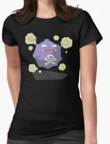Cutout Koffing Womens Fitted T-Shirt