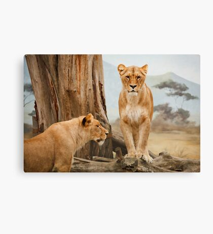 Her Majesty Canvas Print