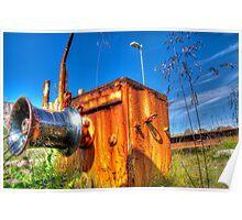 Ol' rusty Poster