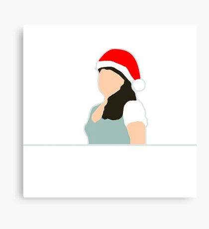 Belle French - Merry Christmas! Canvas Print
