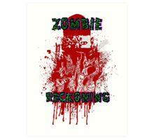Zombie Reckoning Art Print