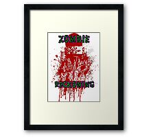 Zombie Reckoning Framed Print