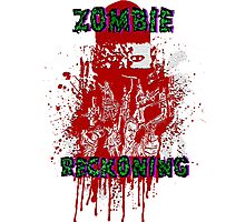 Zombie Reckoning Photographic Print