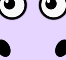Little Cute Hippopotamus Sticker