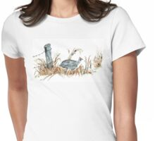 Guineas are winged wonders! Womens Fitted T-Shirt