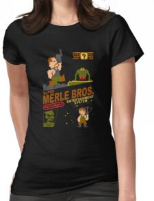Super Merle Brothers Womens Fitted T-Shirt