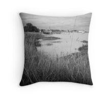 View of the River Deben - Woodbridge,Suffolk,UK Throw Pillow