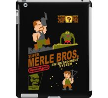 Super Merle Brothers iPad Case/Skin
