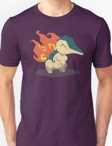 Cutout Cyndaquil Unisex T-Shirt