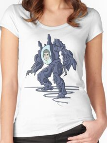 PJ the Robot Women's Fitted Scoop T-Shirt