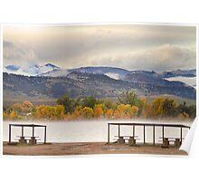 Foothills Reservoir Boulder County Poster
