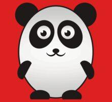 Little Cute Panda Kids Clothes