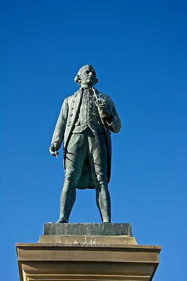 Captain Cook by John (Mike)  Dobson