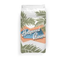 The Hollywood Riviera Duvet Cover