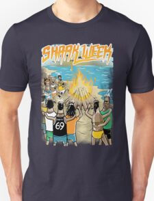 Beach Party w Brown Bottles - Colour Unisex T-Shirt