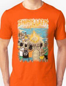 Beach Party w Brown Bottles - Colour T-Shirt