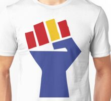 RAISED FIST RESISTANCE Unisex T-Shirt