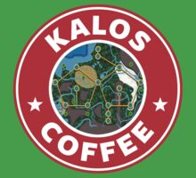 Kalos Coffe Red Baby Tee