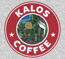 Kalos Coffe Red Kids Tee