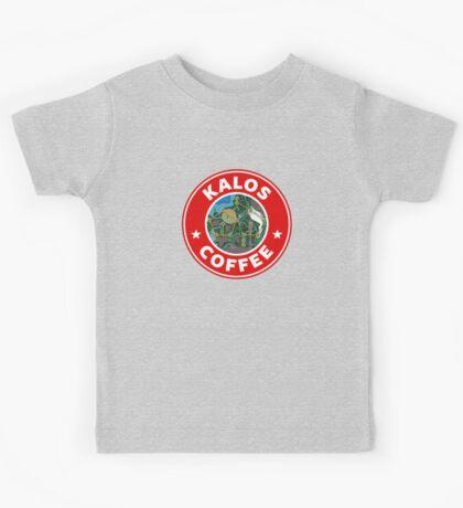 Kalos Coffe Red Kids Tee