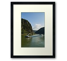Lorelei Rock Framed Print
