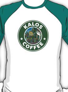 Kalos Coffe Green T-Shirt