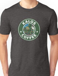 Kalos Coffe Green Unisex T-Shirt