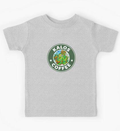 Kalos Coffe Green 2 Kids Tee
