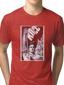 COMMUNIST PARY OF SOVIET UNION KPSS Tri-blend T-Shirt