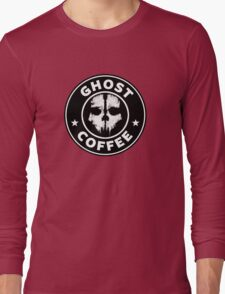 Ghost Coffee 2 Long Sleeve T-Shirt