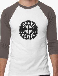 Ghost Coffee 2 Men's Baseball ¾ T-Shirt
