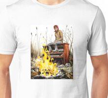 Piano Fire Unisex T-Shirt