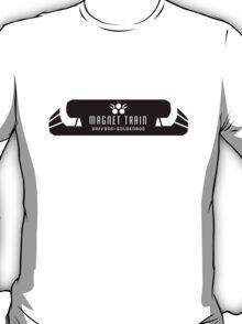 Magnet Train: Saffron - Goldenrod T-Shirt