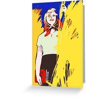 COMMUNIST PROPAGANDA  FUTURE  Greeting Card