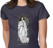 Dr. Who Art Nouveau-Romana Womens Fitted T-Shirt
