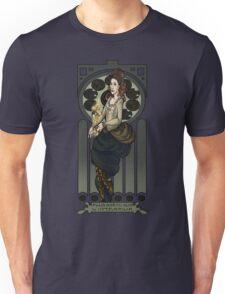 Dr. Who Art Nouveau-The Tardis/Idris Unisex T-Shirt