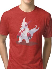 Cutout Zangoose Tri-blend T-Shirt