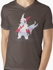 Cutout Zangoose Mens V-Neck T-Shirt