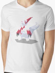 Cutout Zangoose Mens V-Neck T-Shirt