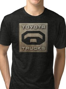 Truck Toyota Tri-blend T-Shirt