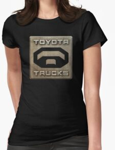 Truck Toyota Womens Fitted T-Shirt