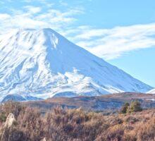 Mount Ngauruhoe Sticker