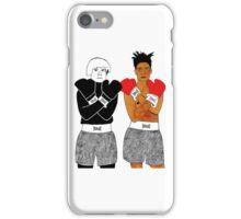 Andy Warhol Jean-Michel Basquiat iPhone Case/Skin