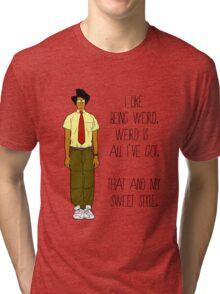 I Like Being Weird Tri-blend T-Shirt