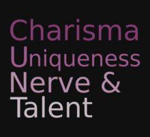 Charisma Uniqueness Nerve Talent by Pano-Designs